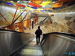 世界上最神奇的地下艺术展览馆 长108公里