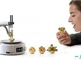 世界上最实用的3D打印机3D食品打印机