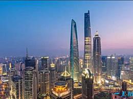 中国最高的建筑 上海大厦 有632米高