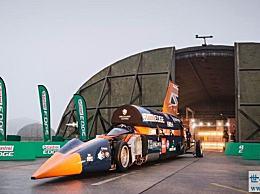 世界上最快的火箭车 时速可达1600公里