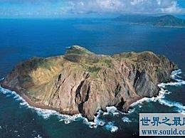 海上神秘的鬼岛 见证鬼岛形成的全过程