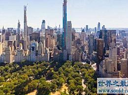 世界上最高的住宅摩天大楼的价格已经超过1亿美元