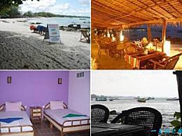柬埔寨最美丽的海滩酒店