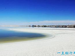 察尔汗盐湖是中国最大的盐湖 这里的盐已经连续使用了1000年