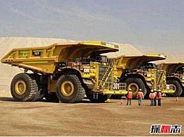 卡特彼勒797是世界上最大的矿车 可搭载8000人(5.3吨轮胎)
