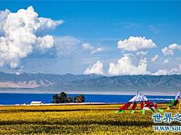 中国最大的湖 让我们看看这个湖有多大!