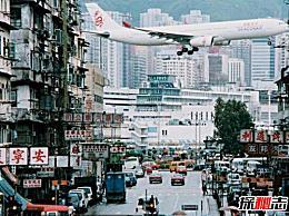 世界上最危险的机场 香港启德机场(位于繁华的市中心)