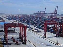 中国最大的港口连续7年拥有世界上最高的吞吐量