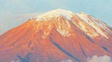 世界上最高的活火山 海拔6739米