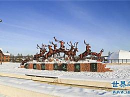 中国最冷的地方是在根河市 在那里测量到零下58度的低温