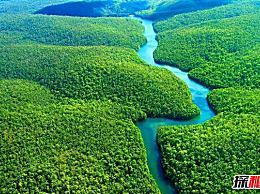 世界十大河流的水量排名第一 亚马逊河的流量为每秒12万立方米