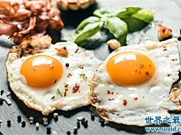 世界上最大的煎蛋 鸡蛋不能在一个锅里煮!
