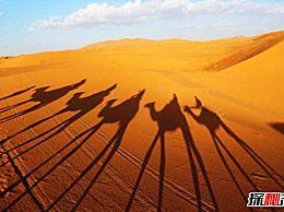 世界四大沙漠排名:撒哈拉地区仅次于中国(960万平方公里)