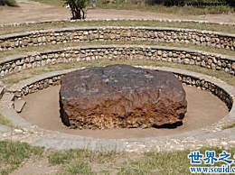 世界上最大最重的陨石 霍巴陨石重60吨