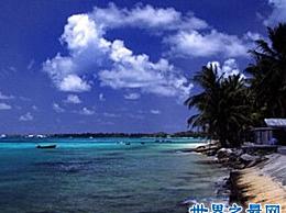 如果你去世界上最小的岛屿 你必须小心地用一只脚踩在海里
