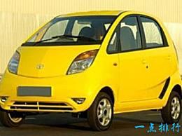 世界上最便宜的汽车中国汽车占四个座位