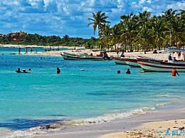 墨西哥海滩旅游排名坎克恩实际上只排在第四位