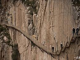算上世界各地的悬崖小径 中国有三个地方在名单上 每一个都很惊险!