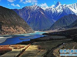 世界上最深的峡谷雅鲁藏布江大峡谷有6000多米深