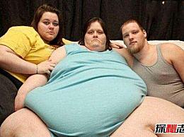 世界上最胖的女人 苏珊娜・伊曼1450公斤(相当于一头大象)