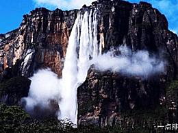 世界上最大的瀑布天使瀑布落差:979.6米
