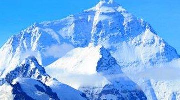世界上最高的山:珠穆朗玛峰(海拔8844.43米)