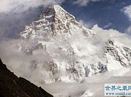 世界第二高峰乔戈里峰仅比第一高峰低233米