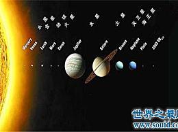 你知道太阳系中哪个星球最大吗?怎么可能不是木星