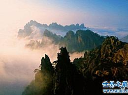 中国最经典的四大名山 看着浩瀚的河流和山脉流淌而下