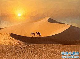 世界上最大的沙漠 撒哈拉沙漠曾经埋葬了许多热情的游客