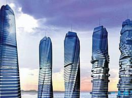 迪拜最令人震惊的建筑可以自由旋转360度