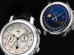 百达翡丽最昂贵的生产手表 百达翡丽5002P男士机械表(价格1760万英镑)