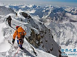 世界十大山峰 平均海拔超过8000米(6座位于中国边境)