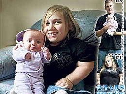 史黛西・杰拉尔德 世界上最年轻的母亲 生来就患有脆性骨病