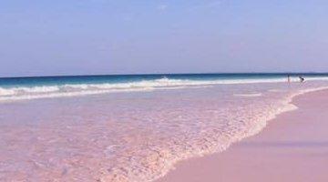 世界上最美的海滩排名,巴哈马粉红沙滩仿佛置身天堂