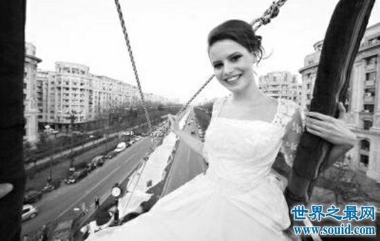 算上世界上最长的婚纱 它长达4000米