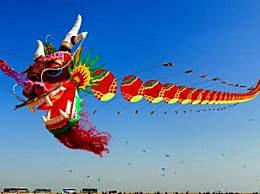 世界上最大的风筝 八公里长的龙