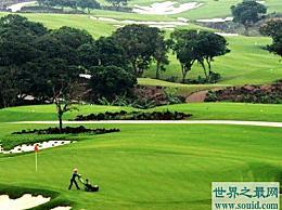 世界上最大的高尔夫球场 占地30万平方英尺