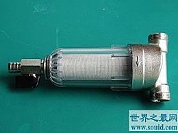 世界上最小的净水器 只有2厘米长 1厘米宽