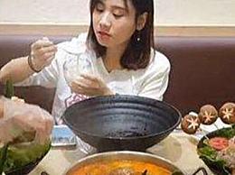 """颤音十大美食博主李自凯的第二个也是第一个昵称""""大胃王"""""""