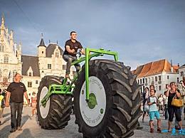 世界上最重的自行车 你会骑一辆将近一吨重的自行车吗