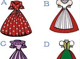 心理测试:你最喜欢哪种公主礼服?测你在爱情中有多傻
