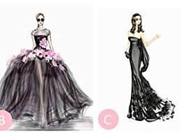 测试:走红毯你会选择穿哪件?看出你是心机女人还是单纯女